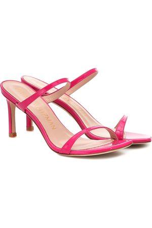 Stuart Weitzman Aleena 75 leather sandals