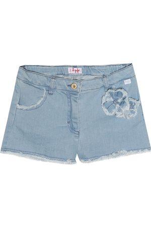 Il gufo Denim shorts