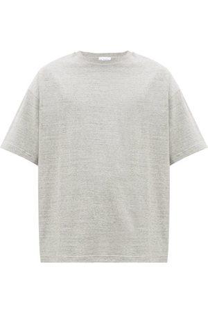 Raey Oversized Cotton-jersey T-shirt - Mens - Grey Marl