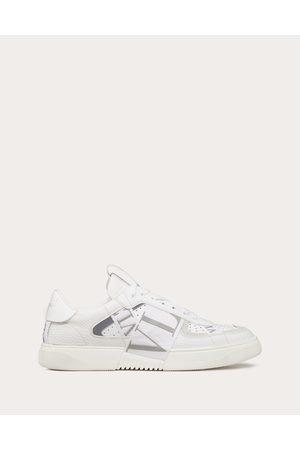 VALENTINO GARAVANI Calfskin Vl7n Sneaker With Bands Man /ice Calfskin 100% 39