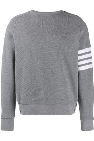 Thom Browne 4-Bar raglan-sleeve sweatshirt - Grey