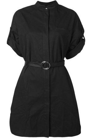 YVES SALOMON Belted shirt dress