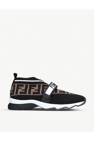 Fendi Women Sneakers - Rockoko knitted