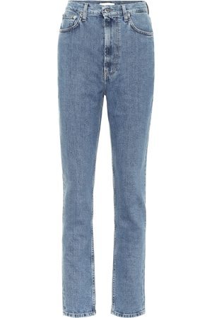 Helmut Lang High-rise slim jeans