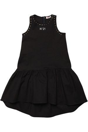Nº21 Studded Cotton Dress