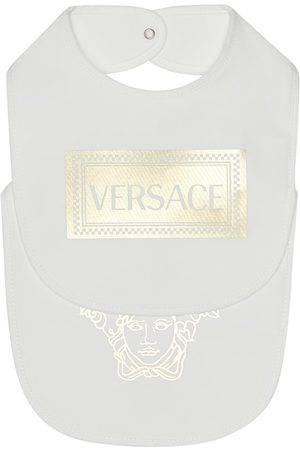 VERSACE Baby Sets - Set of two printed bibs