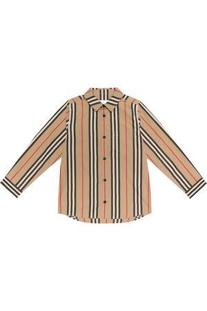 Burberry Icon Stripe cotton-poplin shirt
