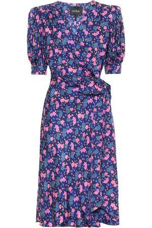 Marc Jacobs Women Printed Dresses - Floral silk wrap dress