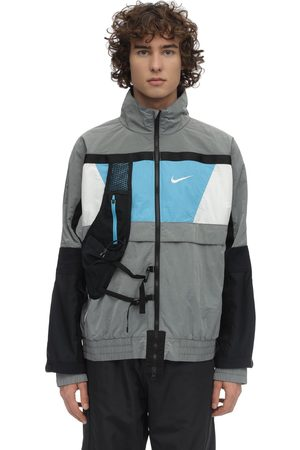 Nike Men Jackets - Ispa Nrg Hooded Technical Jacket