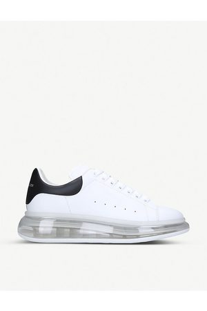 Alexander McQueen Show Bubble leather trainers