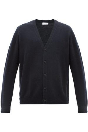 Raey Loose-fit Cashmere Cardigan - Mens - Navy