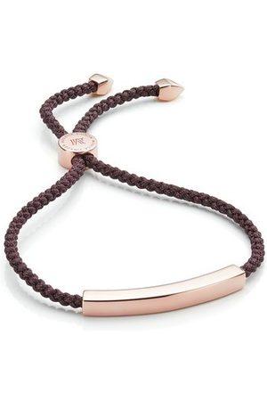 Monica Vinader Women Bracelets - Rose Gold Linear Friendship Petite Bracelet
