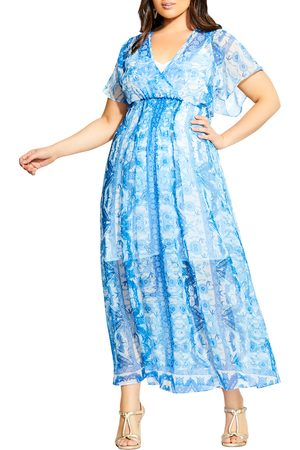 City Chic Women Midi Dresses - Plus Size Women's Mykonos Midi Dress