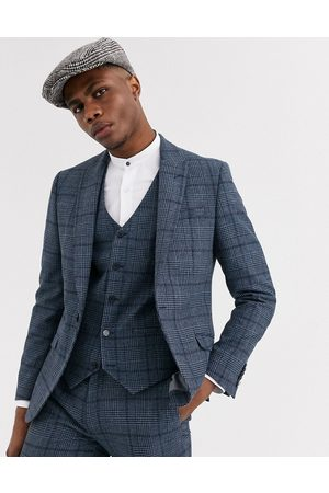 Shelby & Sons Suits - Slim suit jacket in check