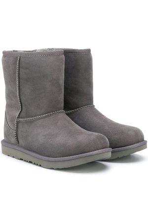 UGG TEEN textured ankle boots - Grey