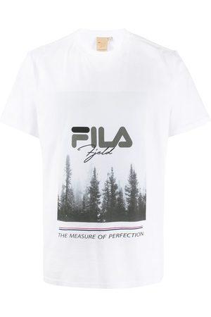 Fila Men T-shirts - Forest graphic print T-shirt