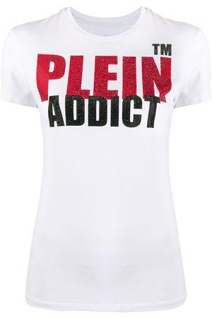 Philipp Plein Addict embellished short sleeve T-shirt