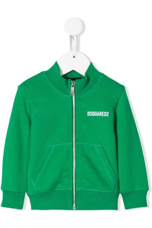 Dsquared2 Icon print zipped sweatshirt