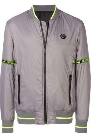 Philipp Plein Padded bomber jacket - Grey