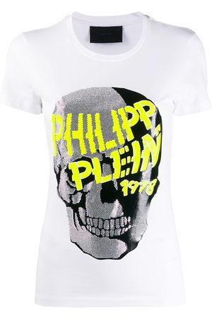 Philipp Plein Skull embellished short sleeve T-shirt