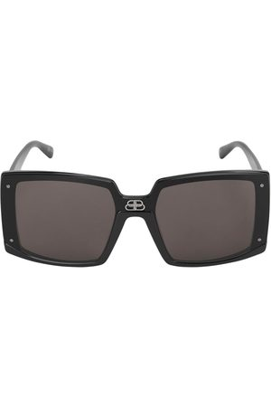 Balenciaga 0081s Shield Square Sunglasses