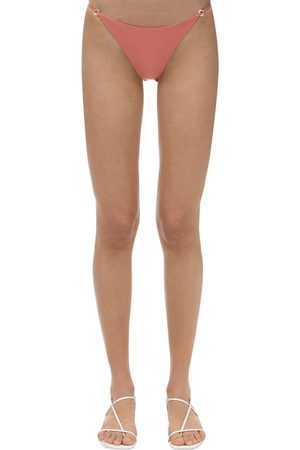 Jade Swim Aria Lycra & Mother Pearl Bikini Bottom