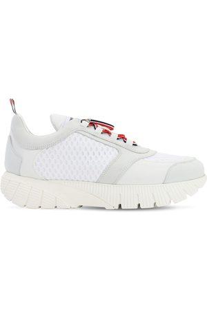 Thom Browne Running Sneakers W/ Elastic Laces