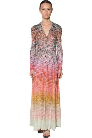 Missoni Viscose Knit Shirt Dress