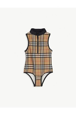 Burberry Vintage check swimsuit 3-14 years