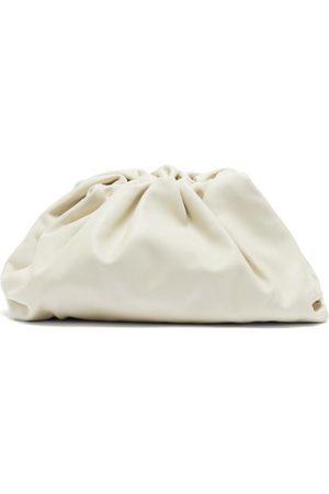 Bottega Veneta The Pouch Large Leather Clutch - Womens