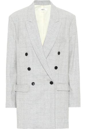 Isabel Marant, Étoile Women Blazers - Eagan checked wool-blend blazer