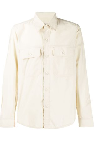 Ami Men Casual - Buttoned Overshirt - Neutrals
