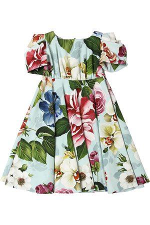Dolce & Gabbana Flower Print Cady Dress