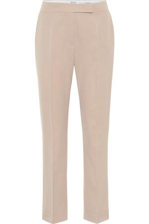 Max Mara Vicolo high-rise wool pants