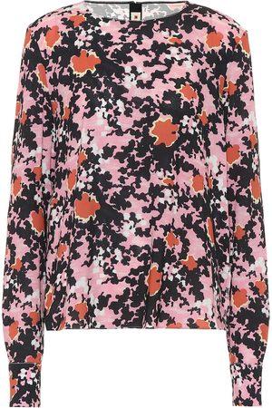 Marni Floral sablé blouse