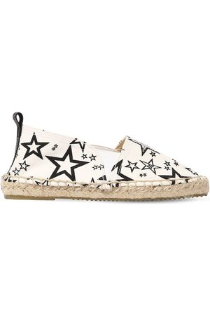 Dolce & Gabbana Printed Cotton Blend Canvas Espadrilles