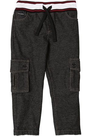 Dolce & Gabbana Cotton Effect Sweatpants