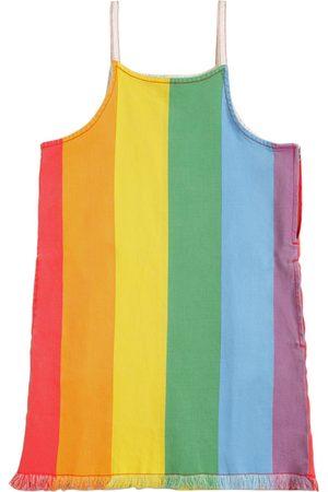 Stella McCartney Rainbow Stretch Denim Dress