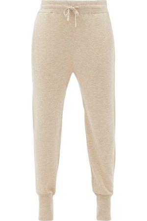 Jil Sander Ribbed-cuff Cashmere-blend Track Pants - Womens