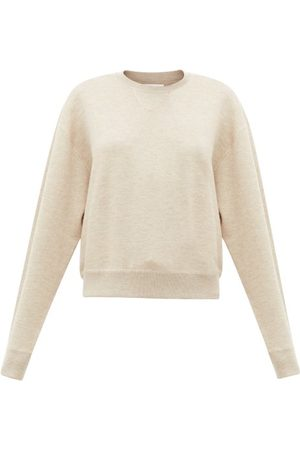 Jil Sander Dropped-sleeve Cashmere-blend Sweater - Womens