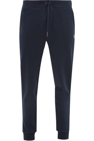 Polo Ralph Lauren Men Sweatpants - Logo-embroidered Jersey Track Pants - Mens - Navy