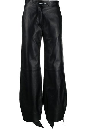 OFF-WHITE Women Pants - High-waist balloon-leg trousers