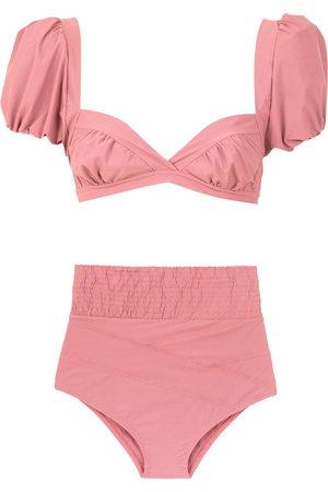 AMIR SLAMA Women Bikinis - Hot pants bikini set - Neutrals