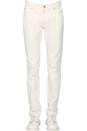 Maison Margiela 18cm Slim Rainbow Dye Cotton Denim Jeans