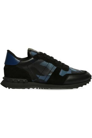 "VALENTINO GARAVANI ""rock Runner"" Leather Sneakers"