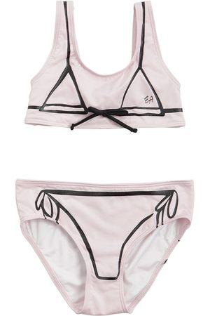 Emporio Armani Printed Lycra Bikini Swimsuit