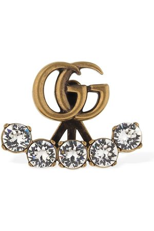 Gucci Gg Marmont Crystal Mono Earring