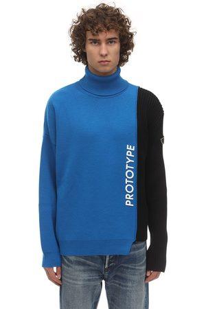 Omc Merino Wool Blend Knit Sweater