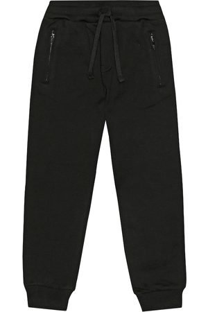 Dolce & Gabbana Cotton-jersey trackpants