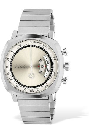 Gucci Grip Lg40 Stainless Steel Watch